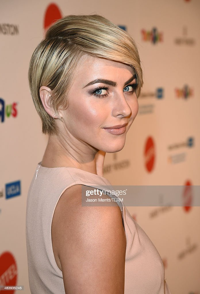 Actress <a gi-track='captionPersonalityLinkClicked' href=/galleries/search?phrase=Julianne+Hough&family=editorial&specificpeople=4237560 ng-click='$event.stopPropagation()'>Julianne Hough</a> attends The Kaleidoscope Ball – Designing the Sweet Side of L.A. benefiting the UCLA Children's Discovery and Innovation Institute at Mattel Children's Hospital UCLA held at Beverly Hills Hotel on April 10, 2014 in Beverly Hills, California.