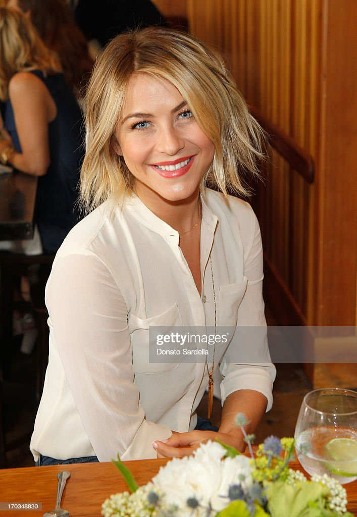 Actress Julianne Hough attends the Paper Denim & Cloth and Baby2Baby Luncheon at Son Of A Gun on June 11, 2013 in Los Angeles, California.