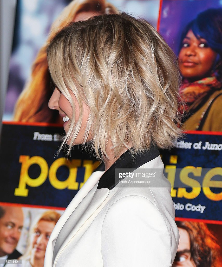 Actress Julianne Hough attends the premiere of DirecTV's 'Paradise' at Mann Chinese 6 on August 6, 2013 in Los Angeles, California.