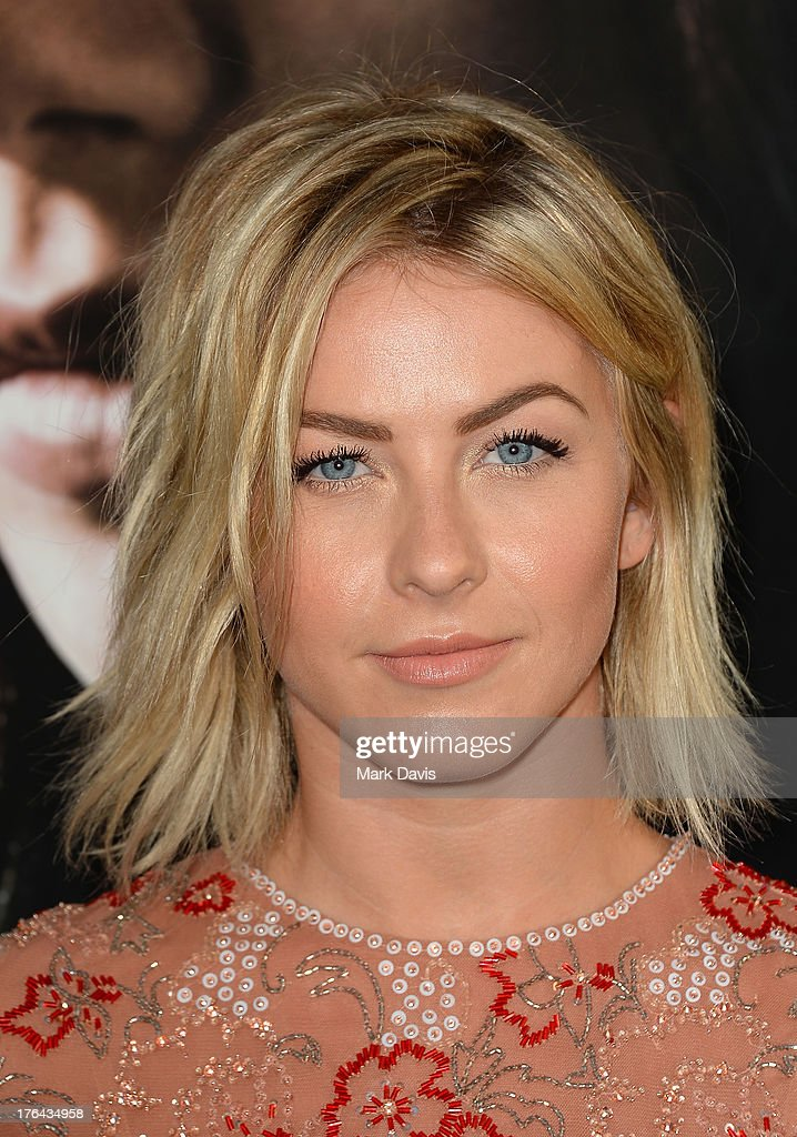 Actress <a gi-track='captionPersonalityLinkClicked' href=/galleries/search?phrase=Julianne+Hough&family=editorial&specificpeople=4237560 ng-click='$event.stopPropagation()'>Julianne Hough</a> attends the premiere of Screen Gems & Constantin Films' 'The Mortal Instruments: City of Bones' at ArcLight Cinemas Cinerama Dome on August 12, 2013 in Hollywood, California.