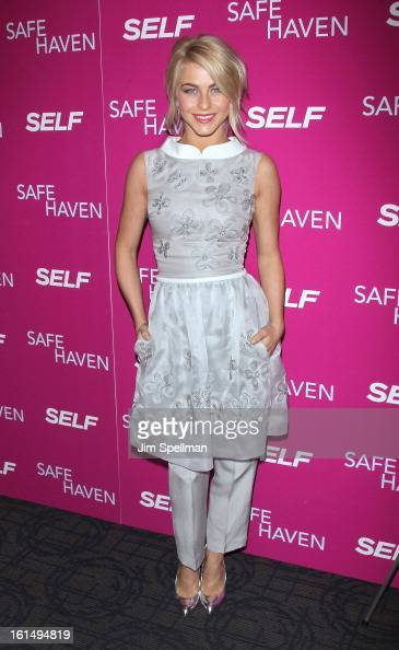 Actress Julianne Hough attends the 'Safe Haven' premiere at Landmark's Sunshine Cinema on February 11 2013 in New York City