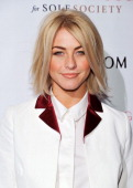 Actress Julianne Hough attends the Sole Society preview party at Mixology101 Planet Dailies at the Grove on February 7 2013 in Los Angeles California