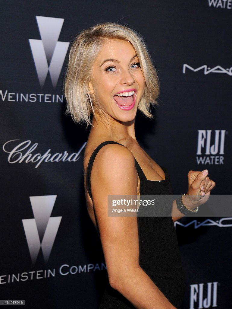 Actress Julianne Hough attends The Weinstein Company's Academy Awards Nominees Dinner in partnership with Chopard, DeLeon Tequila, FIJI Water and MAC Cosmetics on February 21, 2015 in Los Angeles, California.
