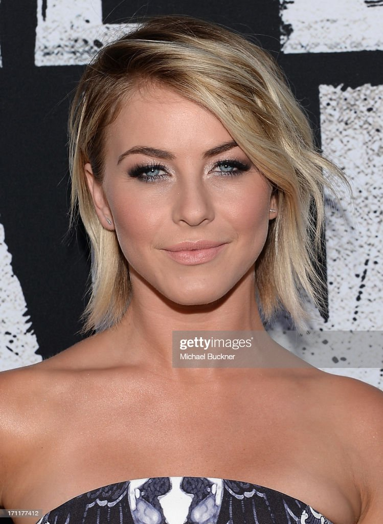 Actress <a gi-track='captionPersonalityLinkClicked' href=/galleries/search?phrase=Julianne+Hough&family=editorial&specificpeople=4237560 ng-click='$event.stopPropagation()'>Julianne Hough</a> attends The World Premiere of Disney/Jerry Bruckheimer Films' 'The Lone Ranger' at Disney California Adventure Park on June 22, 2013 in Anaheim, California.