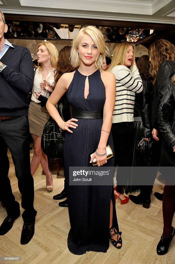 Actress Julianne Hough attends Tommy Hilfiger New West Coast Flagship Opening on Robertson Boulevard on February 13, 2013 in West Hollywood, California.