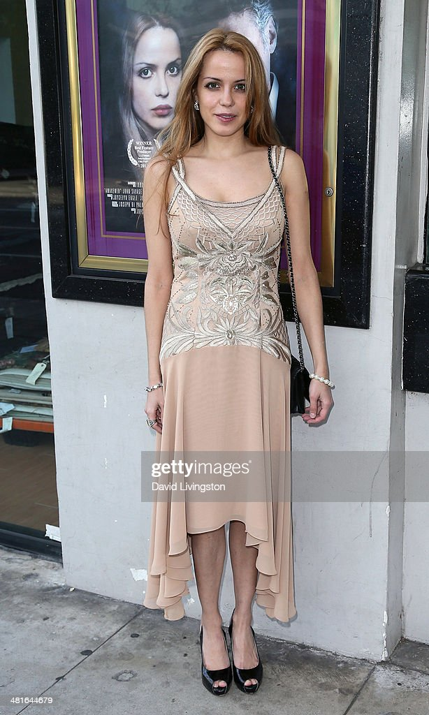 Actress Julianne Michelle attends the Los Angeles premiere of 'Awakened' at the Laemmle Music Hall on March 30, 2014 in Beverly Hills, California.