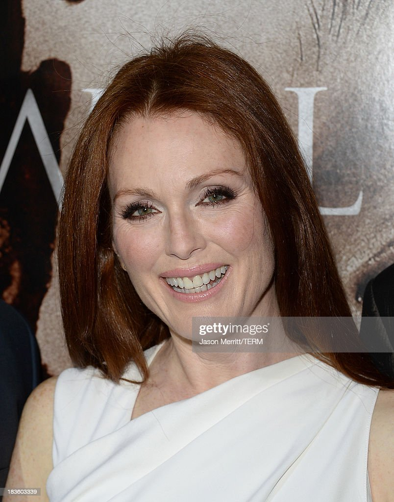Actress Julianne Moore arrives at the premiere of Metro-Goldwyn-Mayer Pictures & Screen Gems' 'Carrie' at ArcLight Cinemas on October 7, 2013 in Hollywood, California.