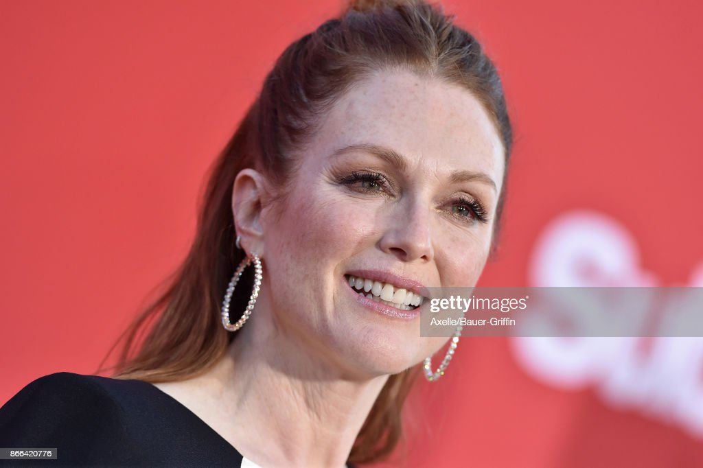 Actress Julianne Moore arrives at the premiere of Paramount Pictures' 'Suburbicon' at Regency Village Theatre on October 22, 2017 in Westwood, California.