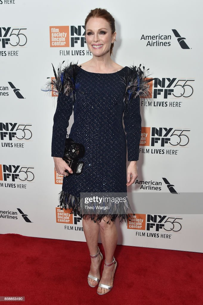 Actress Julianne Moore attends 55th New York Film Festival screening of 'Wonderstruck' at Alice Tully Hall on October 7, 2017 in New York City.