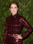 Actress Julianne Moore attends CFDA and Vogue 2013 Fashion Fund Finalists Celebration at Spring Studios on November 11 2013 in New York CityÊ