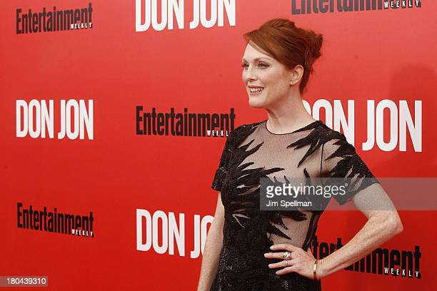 Actress Julianne Moore attends 'Don Jon' New York Premiere at SVA Theater on September 12 2013 in New York City