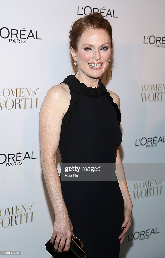 Actress Julianne Moore attends L'Oreal Paris' Ninth Annual Women Of Worth Celebration at The Pierre Hotel on December 2 2014 in New York City