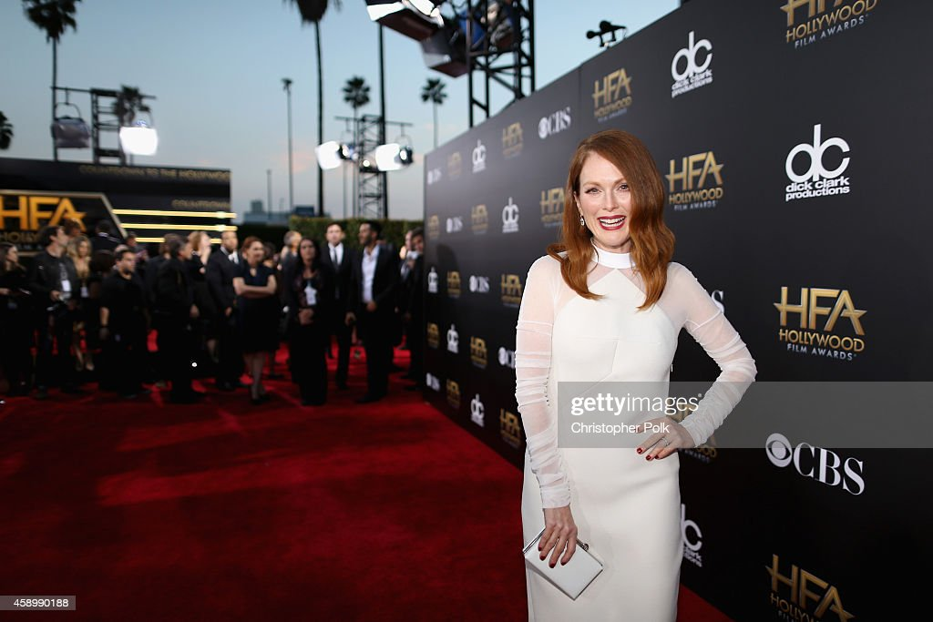 Actress Julianne Moore attends the 18th Annual Hollywood Film Awards at The Palladium on November 14 2014 in Hollywood California