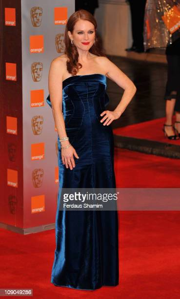 Actress Julianne Moore attends the 2011 Orange British Academy Film Awards at The Royal Opera House on February 13 2011 in London England