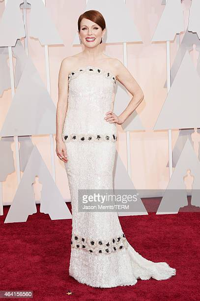 Actress Julianne Moore attends the 87th Annual Academy Awards at Hollywood Highland Center on February 22 2015 in Hollywood California