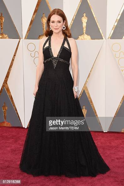 Actress Julianne Moore attends the 88th Annual Academy Awards at Hollywood Highland Center on February 28 2016 in Hollywood California