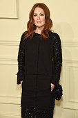 Actress Julianne Moore attends the CHANEL ParisSalzburg 2014/15 Metiers d'Art Collection at Park Avenue Armory on March 31 2015 in New York City
