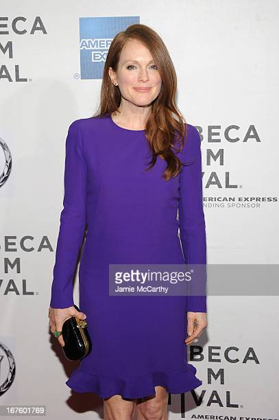 Actress Julianne Moore attends 'The English Teacher' World Premiere during the 2013 Tribeca Film Festival on April 26 2013 in New York City