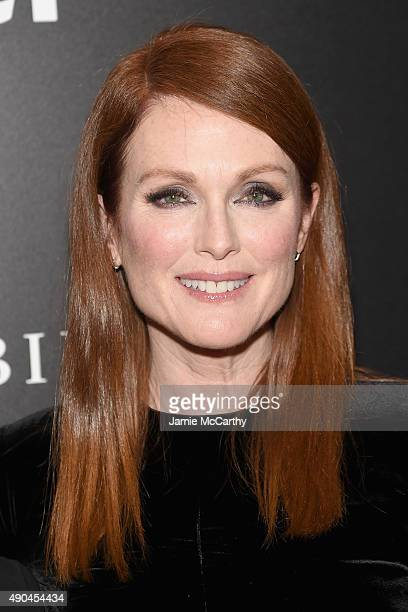 Actress Julianne Moore attends the 'Freeheld' New York premiere at the Museum of Modern Art on September 28 2015 in New York City