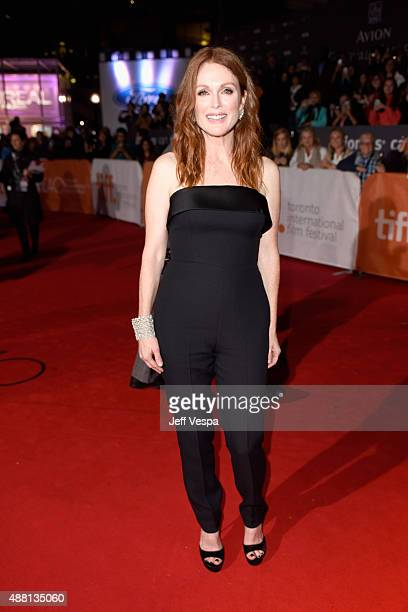 Actress Julianne Moore attends the 'Freeheld' premiere during the 2015 Toronto International Film Festival at Roy Thomson Hall on September 13 2015...