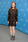 Actress Julianne Moore attends the 'Maggie's Plan' photo call during the 66th Berlinale International Film Festival Berlin at Grand Hyatt Hotel on...