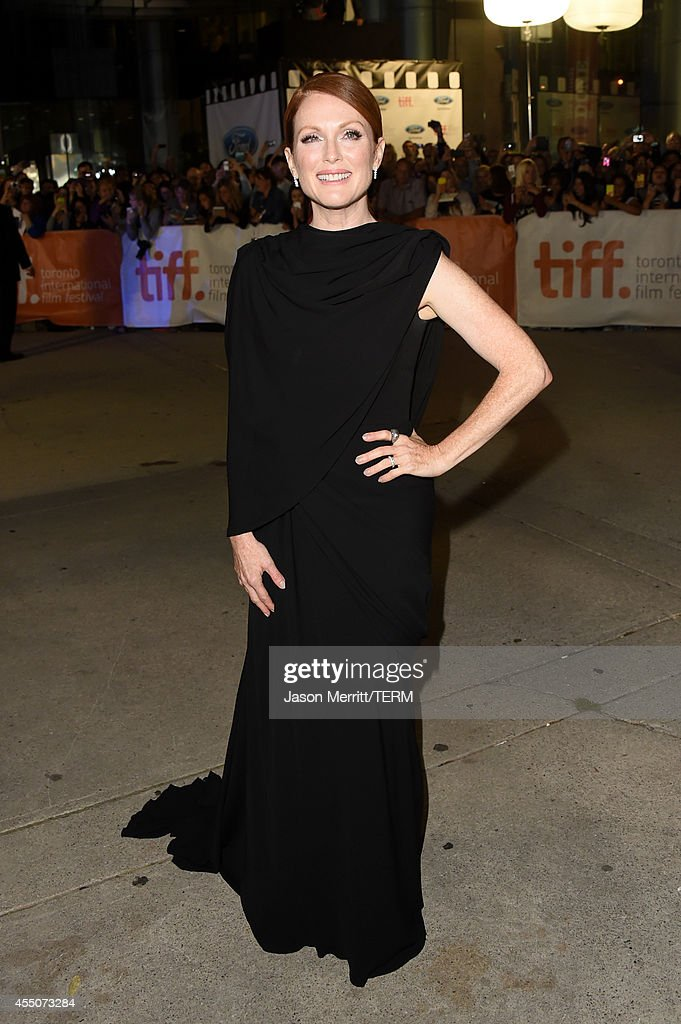 Actress Julianne Moore attends the 'Maps to the Stars' premiere during the 2014 Toronto International Film Festival at Roy Thomson Hall on September...