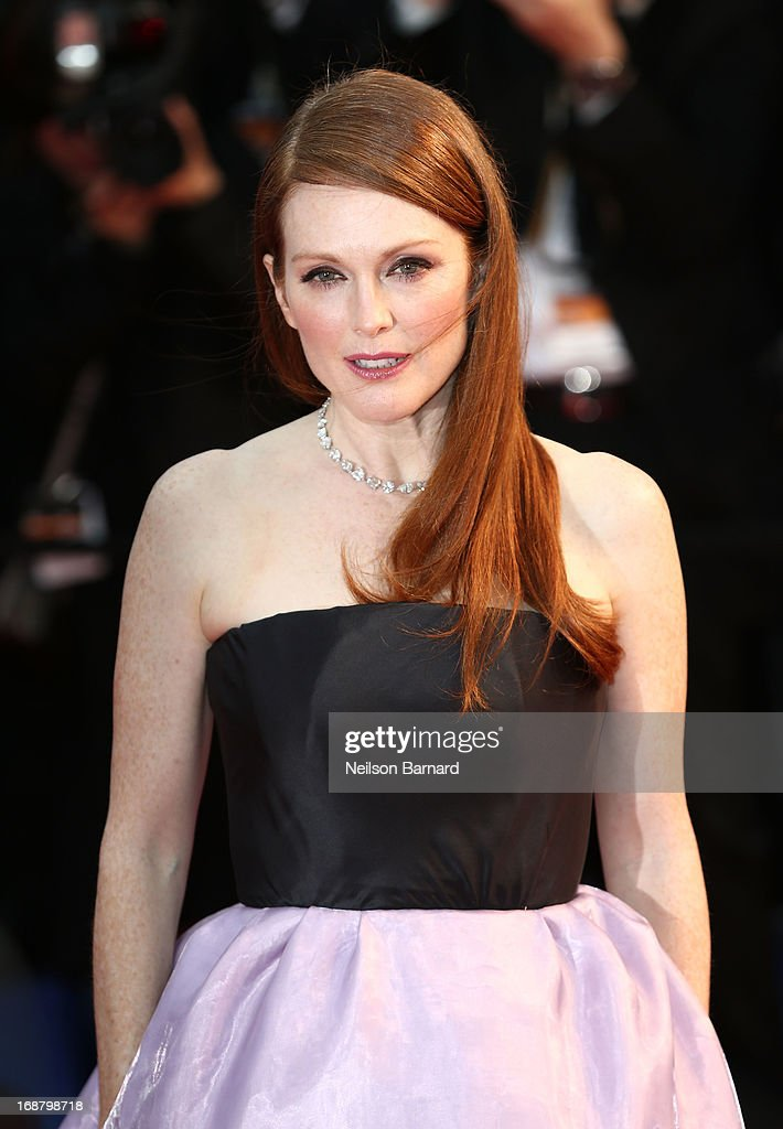 Actress Julianne Moore attends the Opening Ceremony and premiere of 'The Great Gatsby' during the 66th Annual Cannes Film Festival at Palais des Festivals on May 15, 2013 in Cannes, France.