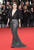 Actress Julianne Moore attends the opening ceremony and premiere of 'La Tete Haute during the 68th annual Cannes Film Festival on May 13 2015 in...