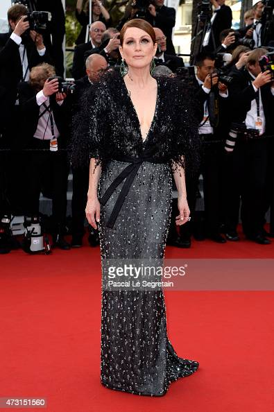 Actress Julianne Moore attends the opening ceremony and premiere of 'La Tete Haute' during the 68th annual Cannes Film Festival on May 13 2015 in...