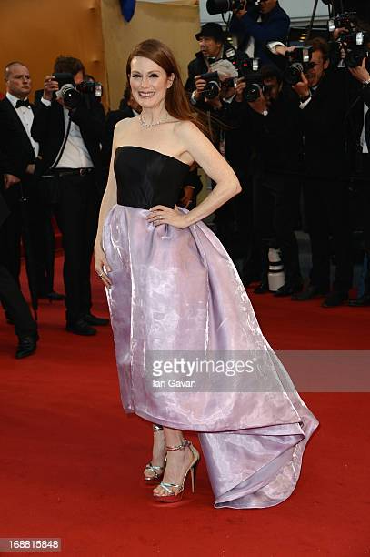 Actress Julianne Moore attends the Opening Ceremony and 'The Great Gatsby' Premiere during the 66th Annual Cannes Film Festival at the Theatre...