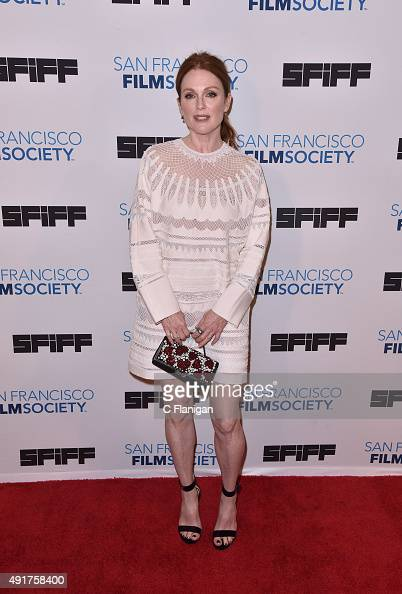 Actress Julianne Moore attends the premiere screening of 'Freeheld' at Castro Theater on October 7 2015 in San Francisco California