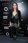 Actress Julianne Moore attends the screening of Sony Pictures Classics' 'Maggie's Plan' hosted by Montblanc and The Cinema Society with Mastro Dobel...