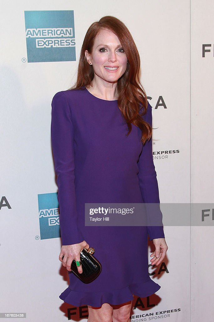 Actress Julianne Moore attends the screening of 'The English Teacher' during the 2013 Tribeca Film Festival at BMCC Tribeca PAC on April 26, 2013 in New York City.