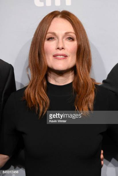 Actress Julianne Moore attends the 'Suburbicon' press conference during the 2017 Toronto International Film Festival at TIFF Bell Lightbox on...