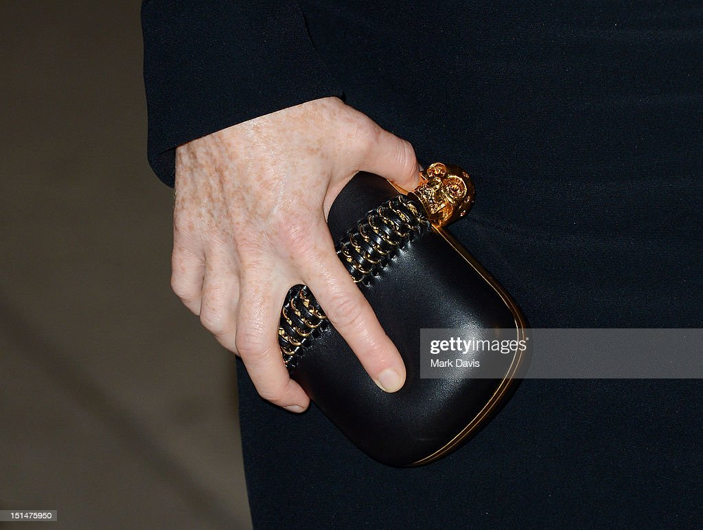 Actress Julianne Moore (accessory detail) attends the 'What Maisie Knew' premiere during the 2012 Toronto International Film Festival at Roy Thomson Hall on September 7, 2012 in Toronto, Canada.