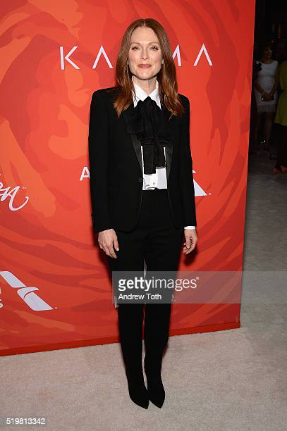 Actress Julianne Moore attends Variety's Power Of Women New York 2016 at Cipriani Midtown on April 8 2016 in New York City