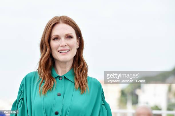 Actress Julianne Moore attends Wonderstruck' Photocall during the 70th annual Cannes Film Festival at Palais des Festivals on May 18 2017 in Cannes...