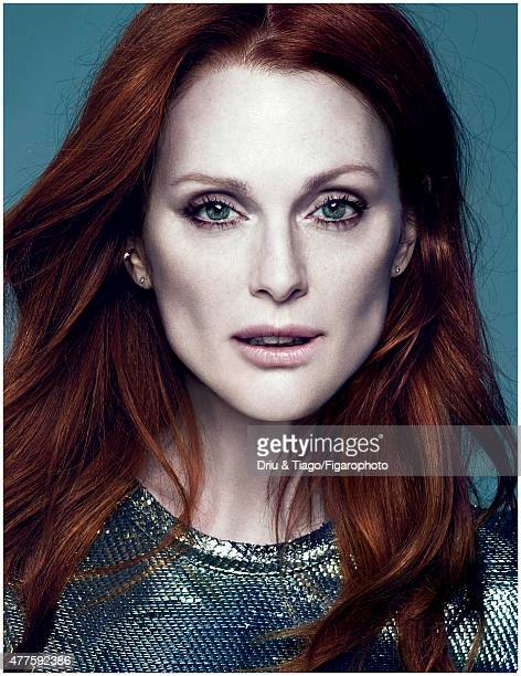 Actress Julianne Moore is photographed for Madame Figaro on February 17 2014 in Paris France CREDIT MUST READ Driu Tiago/Figarophoto/Contour by Getty...
