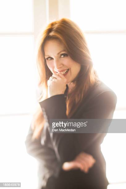 Actress Julianne Moore is photographed for USA Today on October 4 2013 in Los Angeles California PUBLISHED IMAGE