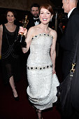 Actress Julianne Moore winner of the 'Best Actress in a Leading Role' category attend the 87th Annual Academy Awards Governors Ball at Hollywood...