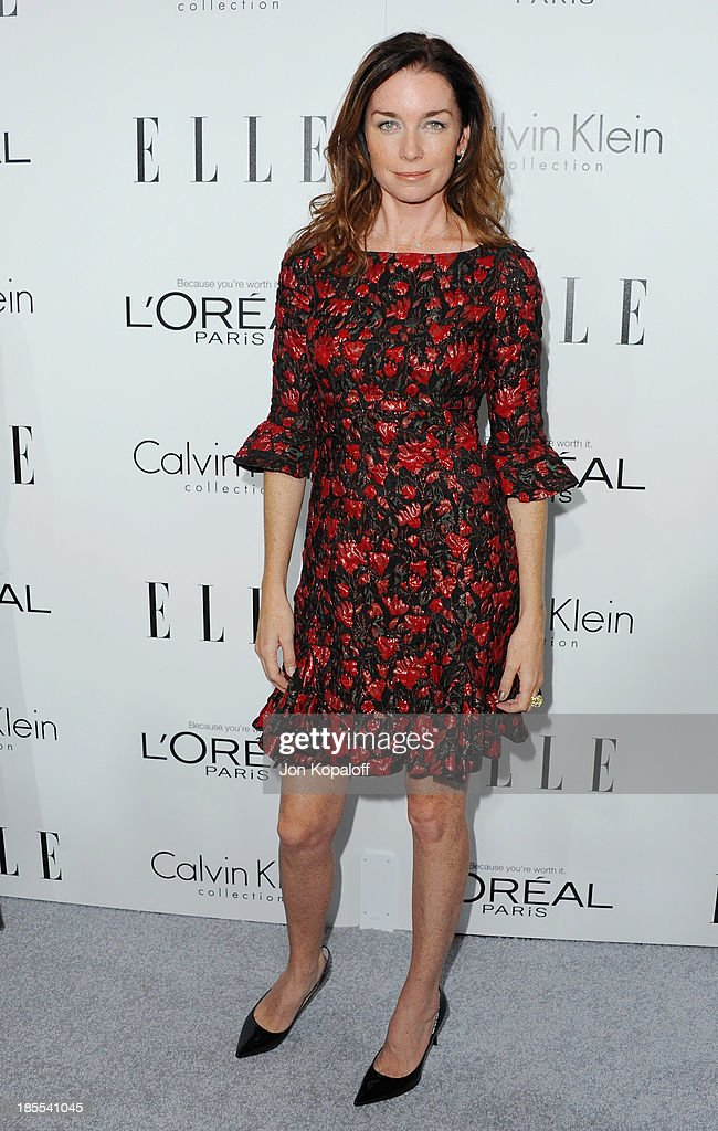 Actress <a gi-track='captionPersonalityLinkClicked' href=/galleries/search?phrase=Julianne+Nicholson&family=editorial&specificpeople=757237 ng-click='$event.stopPropagation()'>Julianne Nicholson</a> arrives at ELLE Celebrates 20th Annual Women In Hollywood Event at Four Seasons Hotel Los Angeles at Beverly Hills on October 21, 2013 in Beverly Hills, California.