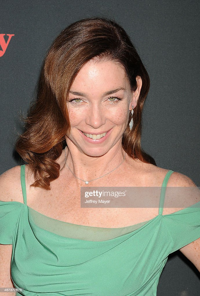 Actress <a gi-track='captionPersonalityLinkClicked' href=/galleries/search?phrase=Julianne+Nicholson&family=editorial&specificpeople=757237 ng-click='$event.stopPropagation()'>Julianne Nicholson</a> arrives at the 'August: Osage County' - Los Angeles Premiere at Regal Cinemas L.A. Live on December 16, 2013 in Los Angeles, California.