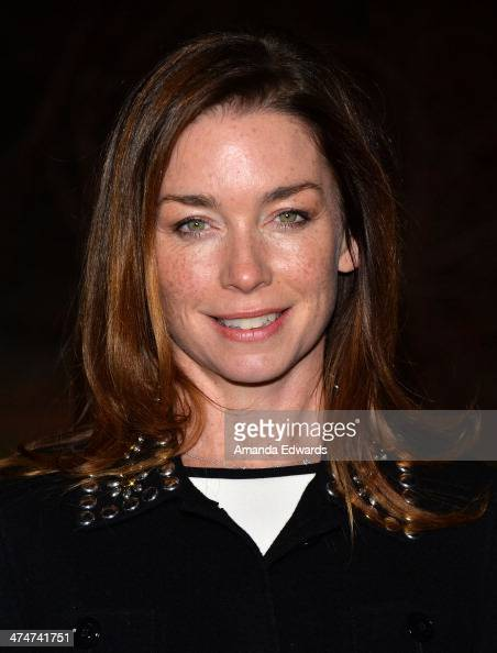 Actress Julianne Nicholson arrives at the Sundance Channel's premiere screening of their new series 'The Red Road' at The Bronson Caves at Griffith...