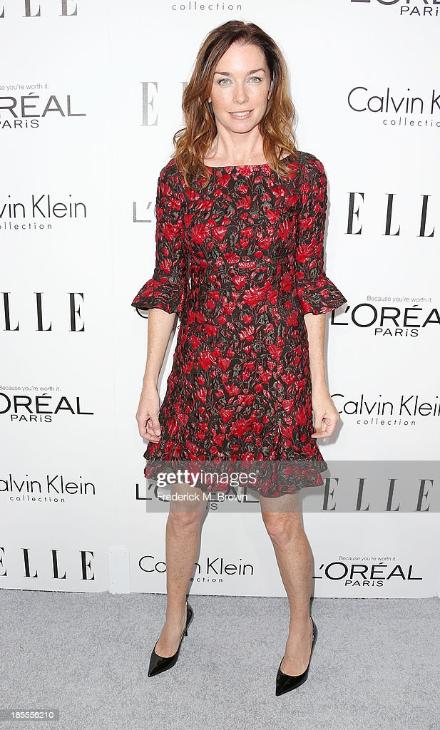 Actress Julianne Nicholson attends ELLE's 20th Annual Women in Hollywood Celebration at the Four Seasons Hotel Los Angeles at Beverly Hills on October 21, 2013 in Beverly Hills, California.