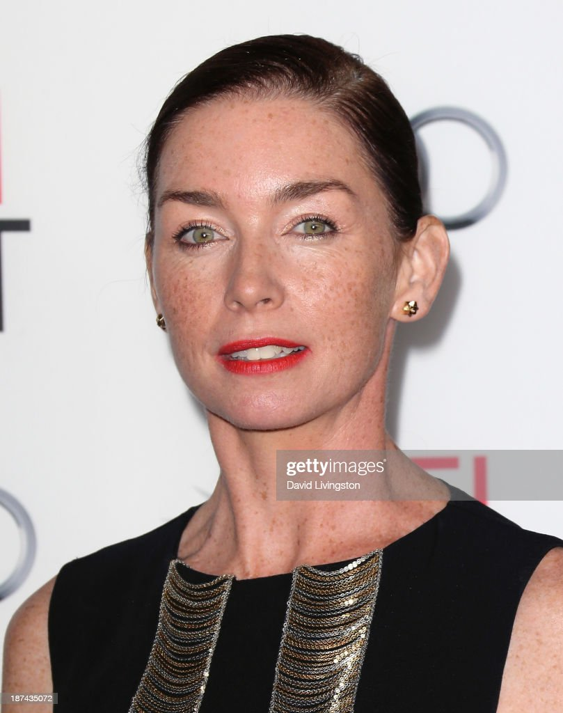 Actress <a gi-track='captionPersonalityLinkClicked' href=/galleries/search?phrase=Julianne+Nicholson&family=editorial&specificpeople=757237 ng-click='$event.stopPropagation()'>Julianne Nicholson</a> attends the AFI FEST 2013 presented by Audi premiere of The Weinstein Company's 'August: Osage County' at the TCL Chinese Theatre on November 8, 2013 in Hollywood, California.