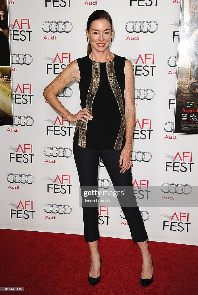 Actress <a gi-track='captionPersonalityLinkClicked' href=/galleries/search?phrase=Julianne+Nicholson&family=editorial&specificpeople=757237 ng-click='$event.stopPropagation()'>Julianne Nicholson</a> attends the premiere of 'August: Osage County' at the 2013 AFI Fest at TCL Chinese Theatre on November 8, 2013 in Hollywood, California.
