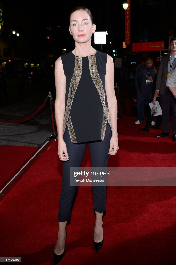 Actress Julianne Nicholson attends the premiere of The Weinstein Company's 'August: Osage County' during AFI FEST 2013 presented by Audi at TCL Chinese Theatre on November 8, 2013 in Hollywood, California.