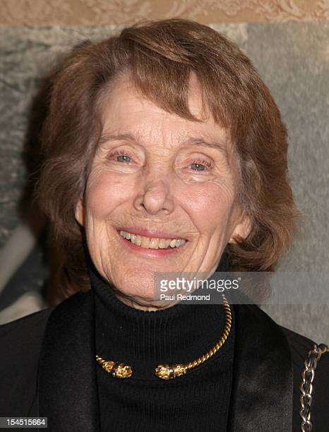 Actress Julie Adams attends Hollywood Actress Carla Laemmle Celebrates 103rd Birthday at The Silent Movie Theater on October 20 2012 in Los Angeles...