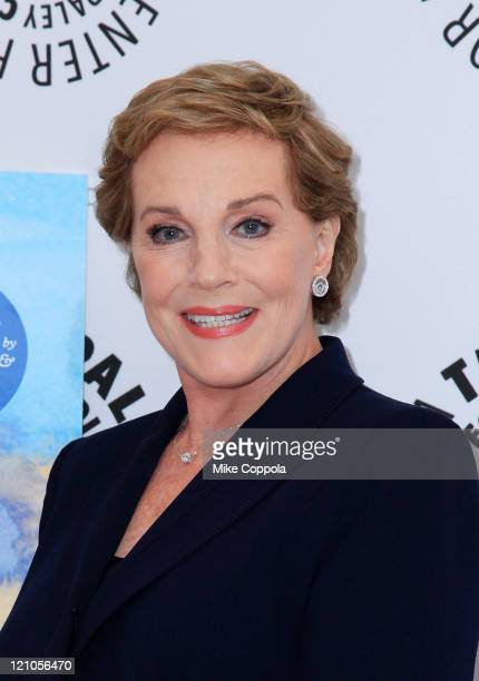 Actress Julie Andrews attends an Evening with Julie Andrews at the Paley Center For Media on October 5 2009 in New York City