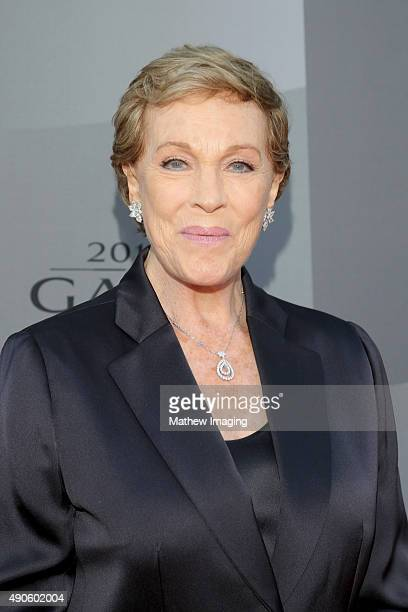 Actress Julie Andrews attends Los Angeles Philharmonic's Walt Disney Concert Hall Opening Night Gala at Walt Disney Concert Hall on September 29 2015...